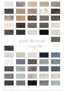palettes de couleurs POP CUISINE