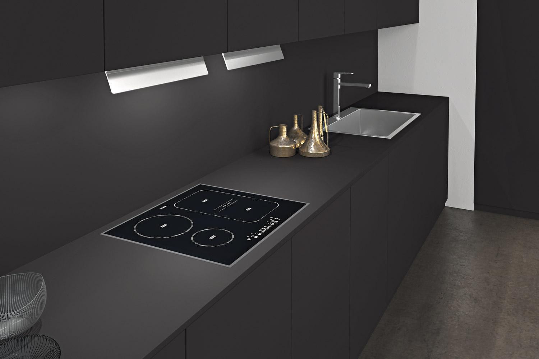 cuisine pop full black pop cuisine. Black Bedroom Furniture Sets. Home Design Ideas