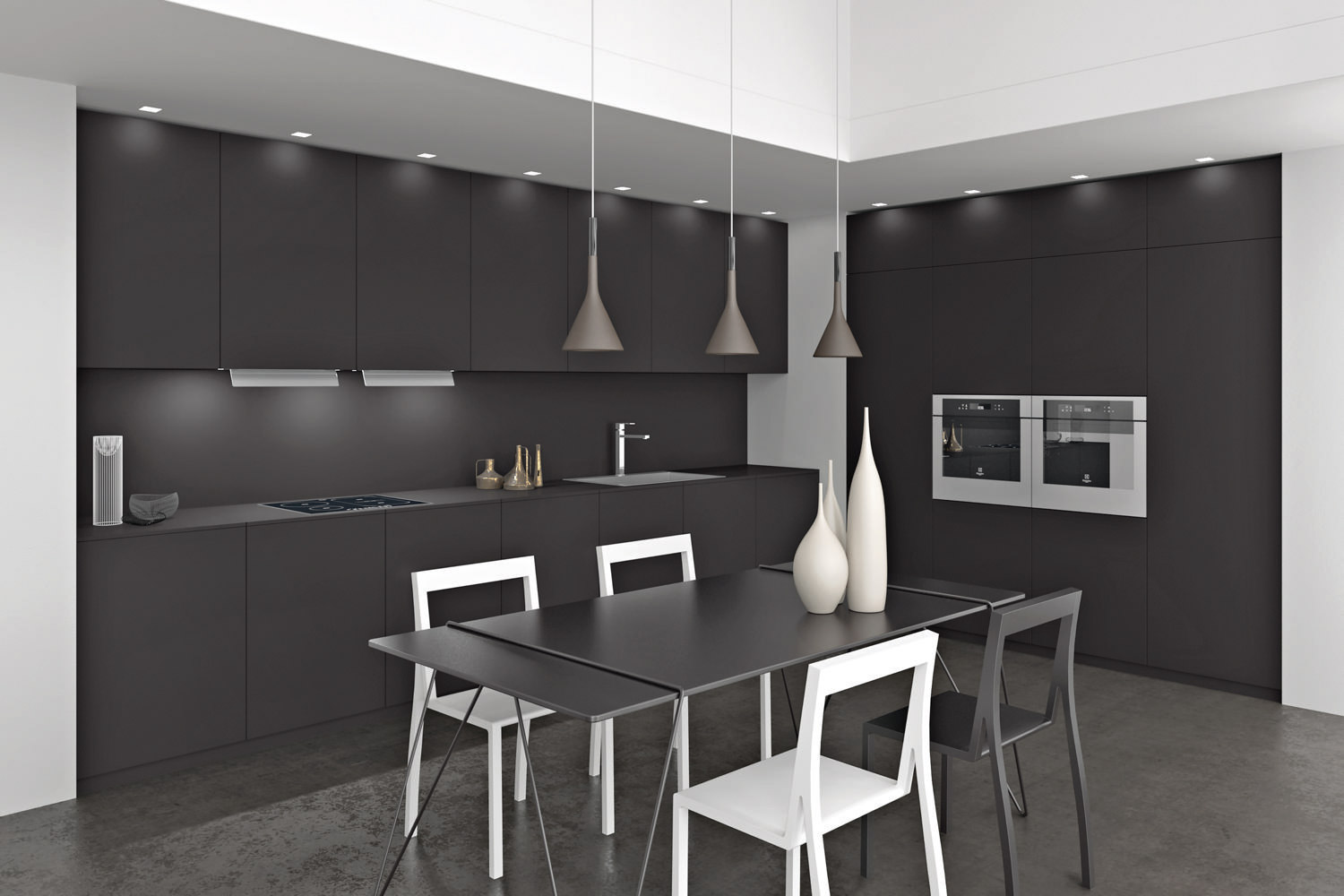 Cuisine en Fenix® POP FULL BLACK