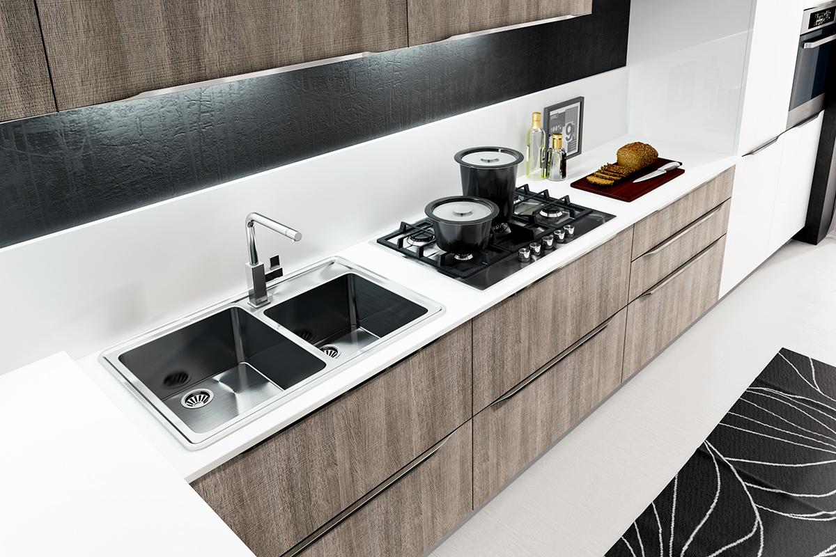 cuisine ypsilon pop cuisine. Black Bedroom Furniture Sets. Home Design Ideas