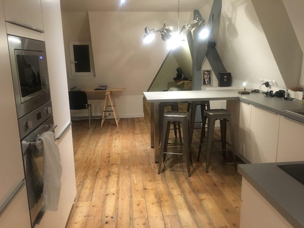 Cuisine fonctionnelle pour petit espace de caract re - Cuisine pour petit espace ...