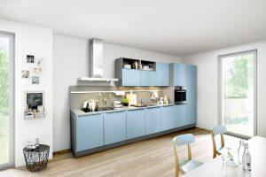 cuisine sobre bleu